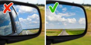 настройка боковых зеркал