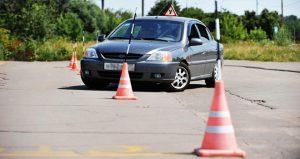 первый урок вождения на автомобиле